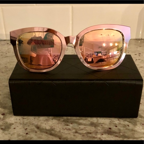 d6c3463185be Dior  Diorama Caged Mirrored Sunglasses in pink